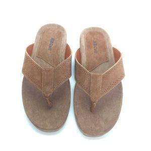 New Rancho Santa Fe Genuine Leather Sandal…